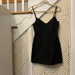 Oh Polly Black BodyCon Dress